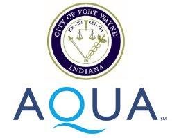 City of Fort Wayne - Aqua Indiana logo