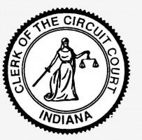 Clerk of the Circuit Court Indiana seal