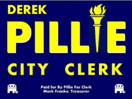 Pillie for Clerk logo
