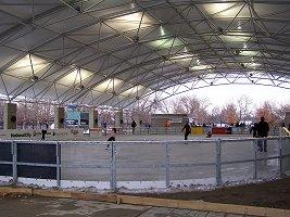 Headwaters Park Ice Rink