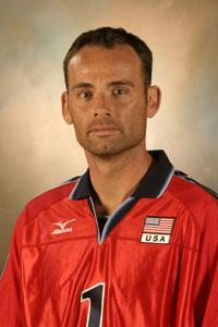 Lloy Ball, photo from the www.usavolleyball.org website.