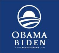 Obama - Biden '08.  Logo from www.obama.com