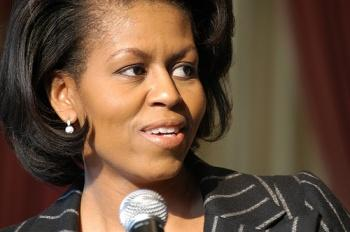 Michelle Obama.  Image taken from www.obama.com