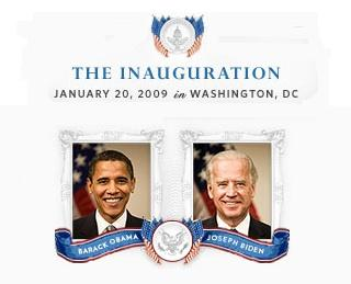 Inauguration Day graphic from https://change.gov/learn/inauguration