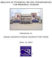 Analysis of Potential Re-use Opportunities for Memorial Stadium