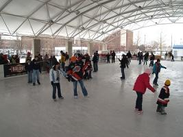 The Headwaters Park Ice Rink