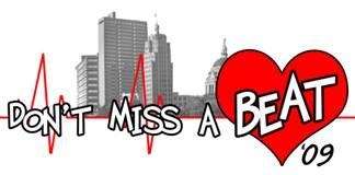 Don't Miss A Beat logo, from the City of Fort Wayne.