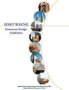Cover of the Downtown Design Guidelines