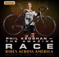 Screen capture from the Keoghan Rides Across America website