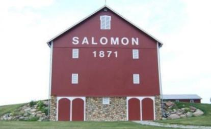 Salomon Barn.  Image from the Parks and Recreation website.