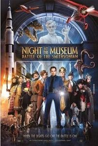 Night at the Museum poster.