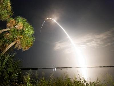 Discovery Shuttle launch, courtesy photo.