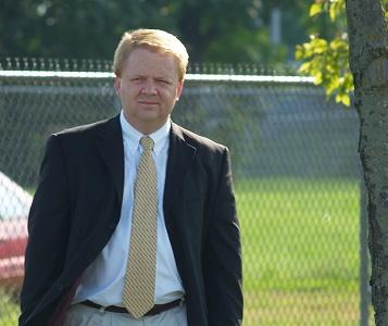 Allen County Recorder John McGauley at the 9-11 remembrance ceremony.