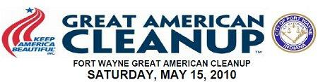 Great American Clean-up logo