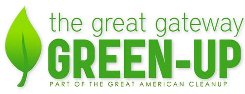 The great gateway green-up logo.