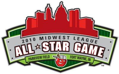 Midwest League All-Star game logo.