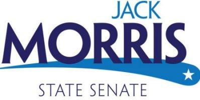 Jack Morris for State Senate campaign sign.