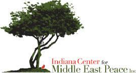 Indiana Center for Middle East Peace logo.