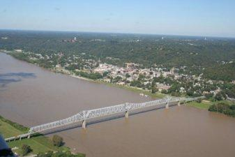 Photo of the Milton Madison Bridge from the website.