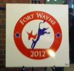 2012 Democratic Convention in Fort Wayne logo