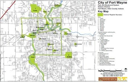 Click here to download a copy of the Fort Wayne Parks and Boulevard System map.