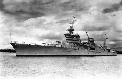 USS Indianapolis.  Courtesy image.