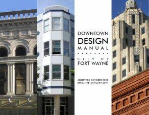 Downtown Design Manual cover.