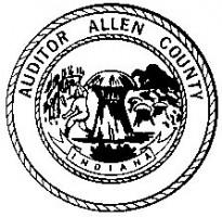 Allen County Auditor seal
