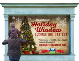 Downtown Holiday Window Decorating Contest graphic
