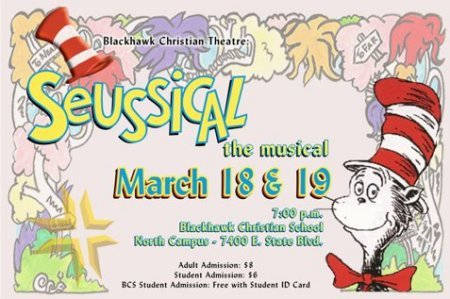 Suessical at the Blackhawk Christian Theatre