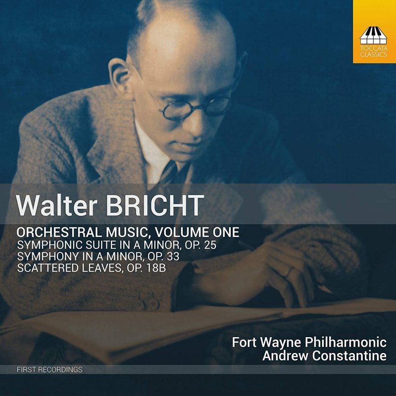 Walter Bricht, Fort Wayne Philharmonic recording, front cover.