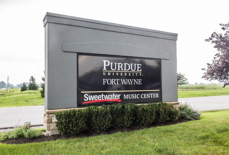 Purdue Sweetwater Music Center entrance