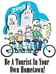 2009 Be A Tourist In Your Hometown logo
