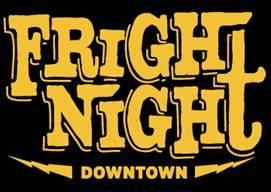 2011 Fright Night Downtown logo.