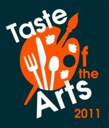 2011 Taste of the Arts logo.