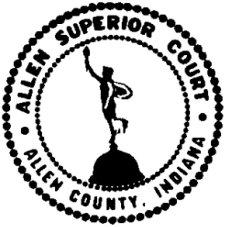 Allen Superior Court logo.