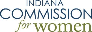 Indiana Commission for Women logo.