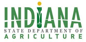 Indiana State Department of Agriculture logo.