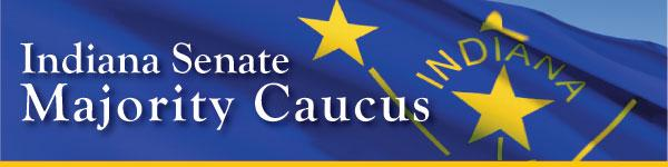 Indiana Senate Majority Caucus logo.