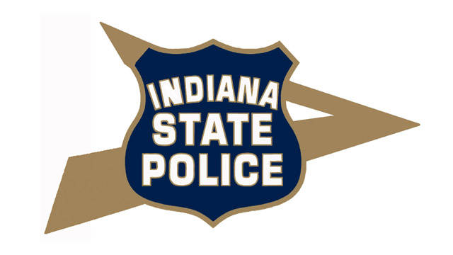Indiana State Police logo.