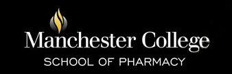 Manchester School of Pharmacy logo.