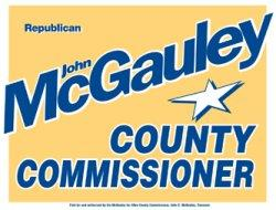 John McGauley for Allen County Commissioner