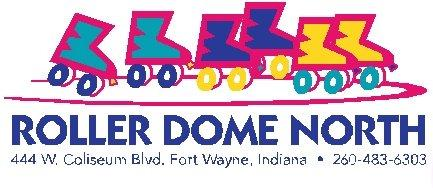Roller Dome North logo.