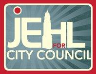 Russ Jehl for City Council logo.