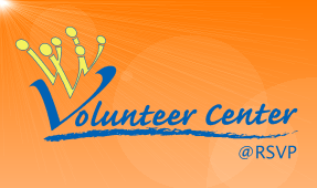Volunteer Center at RSVP logo.