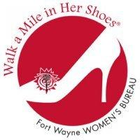 Fort Wayne Walk A Mile logo.