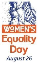 Women's Equality Day logo.