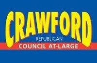 John Crawford for Council campaign sign.