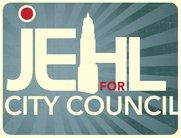 Russ Jehl campaign logo.