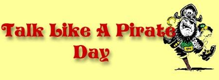 Talk Like a Pirate Day logo.